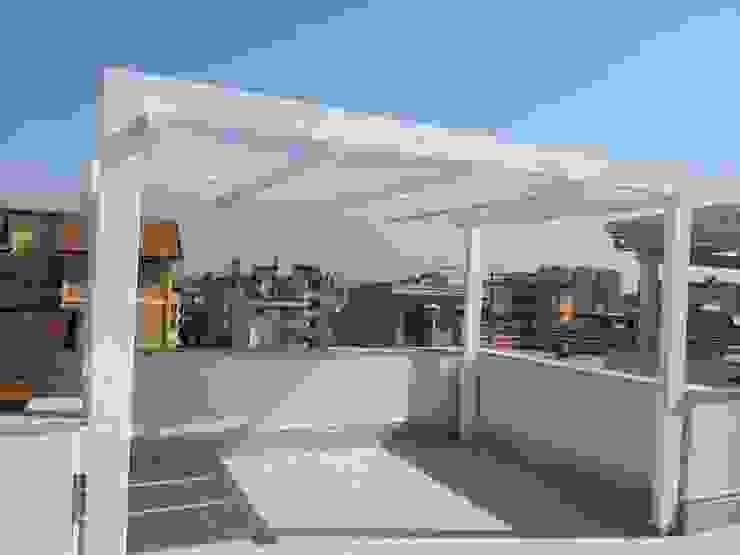 Gazebo con teli Giardino moderno di RicreArt - Italmaxitetto Moderno