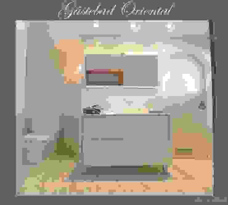 Koloniale badkamers van Illusionen mit Farbe Koloniaal