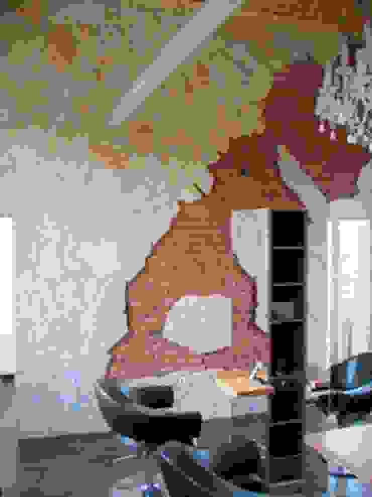 Fassade aus Naturstein von Mosaikdesigns Modern