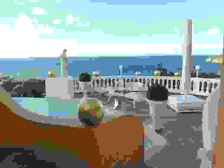 Balcones y terrazas de estilo mediterráneo de Illusionen mit Farbe Mediterráneo