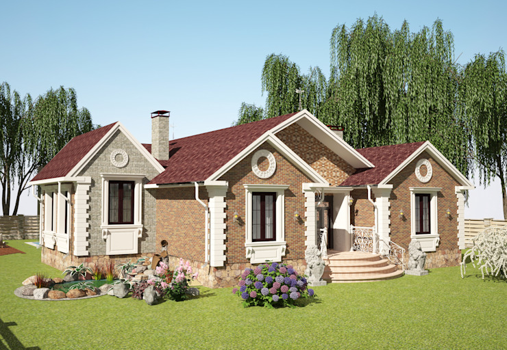 Classic style houses by Гурьянова Наталья Classic