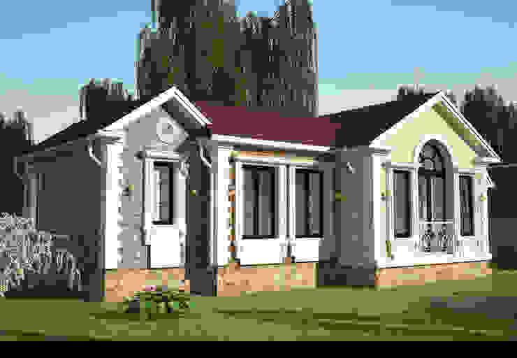 Загородный дом Дома в классическом стиле от Гурьянова Наталья Классический