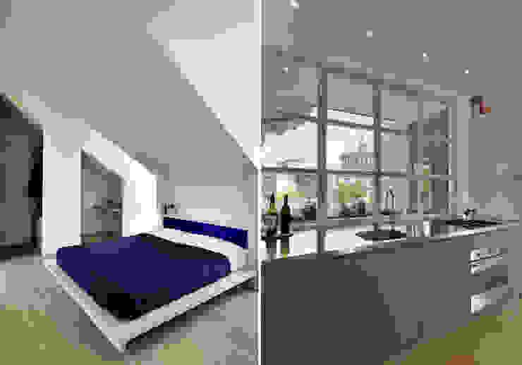 ZENALE DUPLEX Bedroom \ Kitchen Cucina moderna di FTA Filippo Taidelli Architetto Moderno