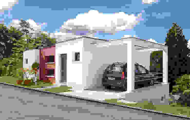 Moderne garage van b2 böhme PROJEKTBAU GmbH Modern