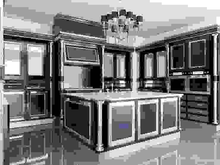 linea nera Cucina in stile classico di elisalage Classico