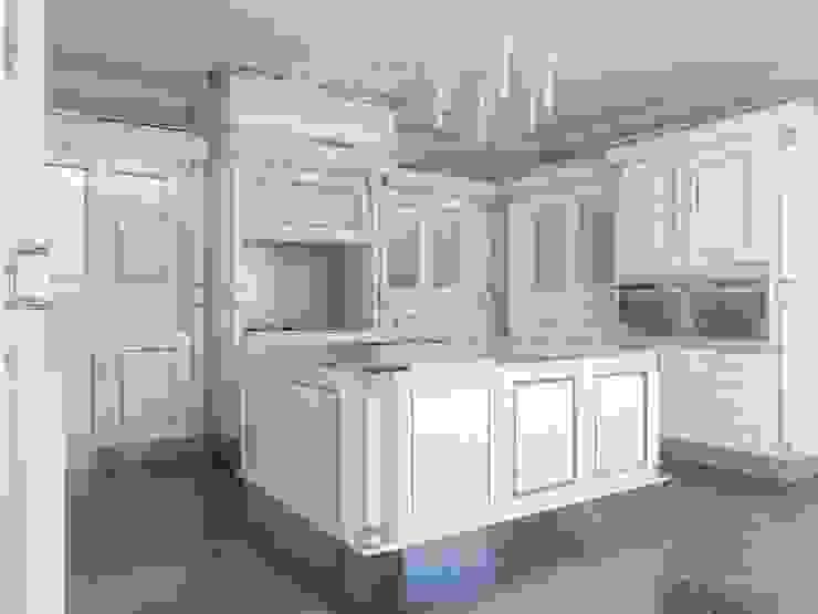 Linea white Cucina in stile classico di elisalage Classico