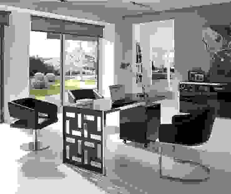 DESPACHOS Y OFICINAS de Muebles Flores Torreblanca Moderno