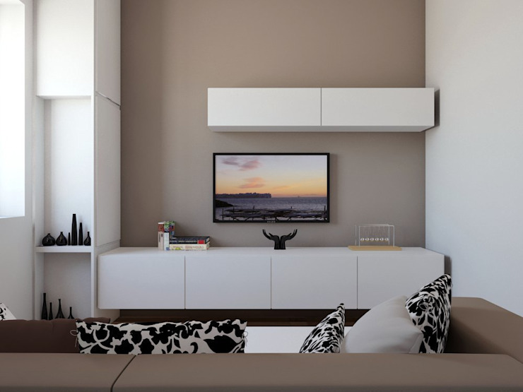 Salones de estilo moderno de elisalage Moderno
