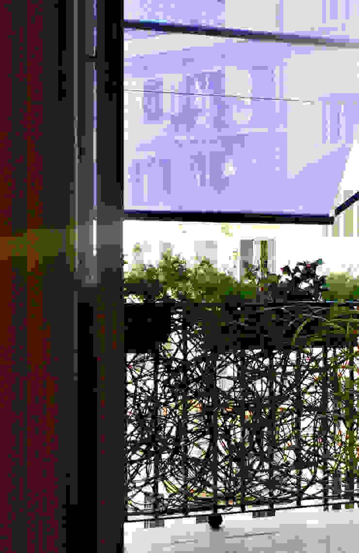 Prati House Balcone, Veranda & Terrazza in stile mediterraneo di Mohamed Keilani Architect Mediterraneo