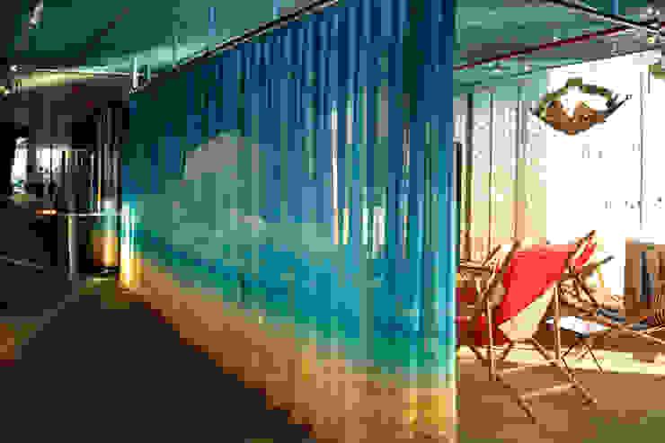 cortiplec cortinas técnicas Bares y clubs de estilo mediterráneo