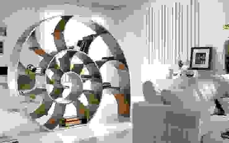 Salas/Recibidores de estilo  por Muebles Flores Torreblanca