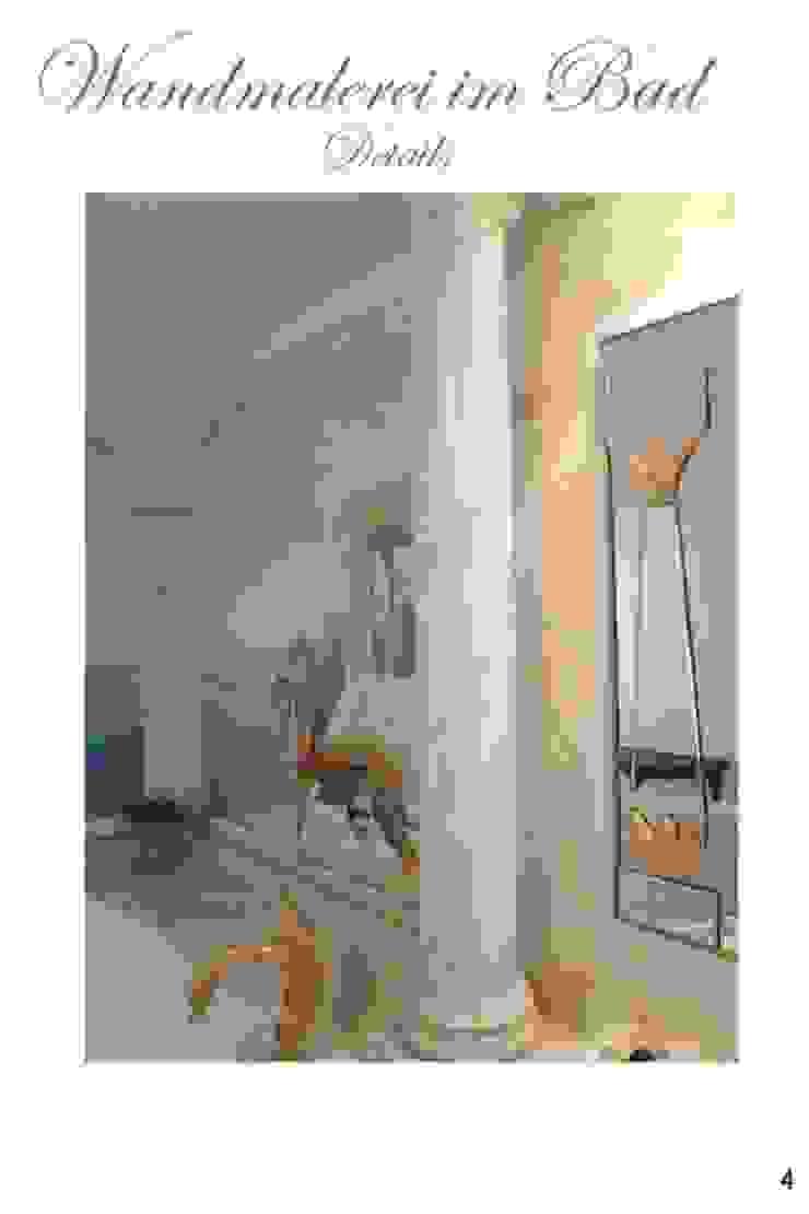 Marmormalerei in Carrara Marmor Illusionen mit Farbe Flur, Diele & TreppenhausAccessoires und Dekoration