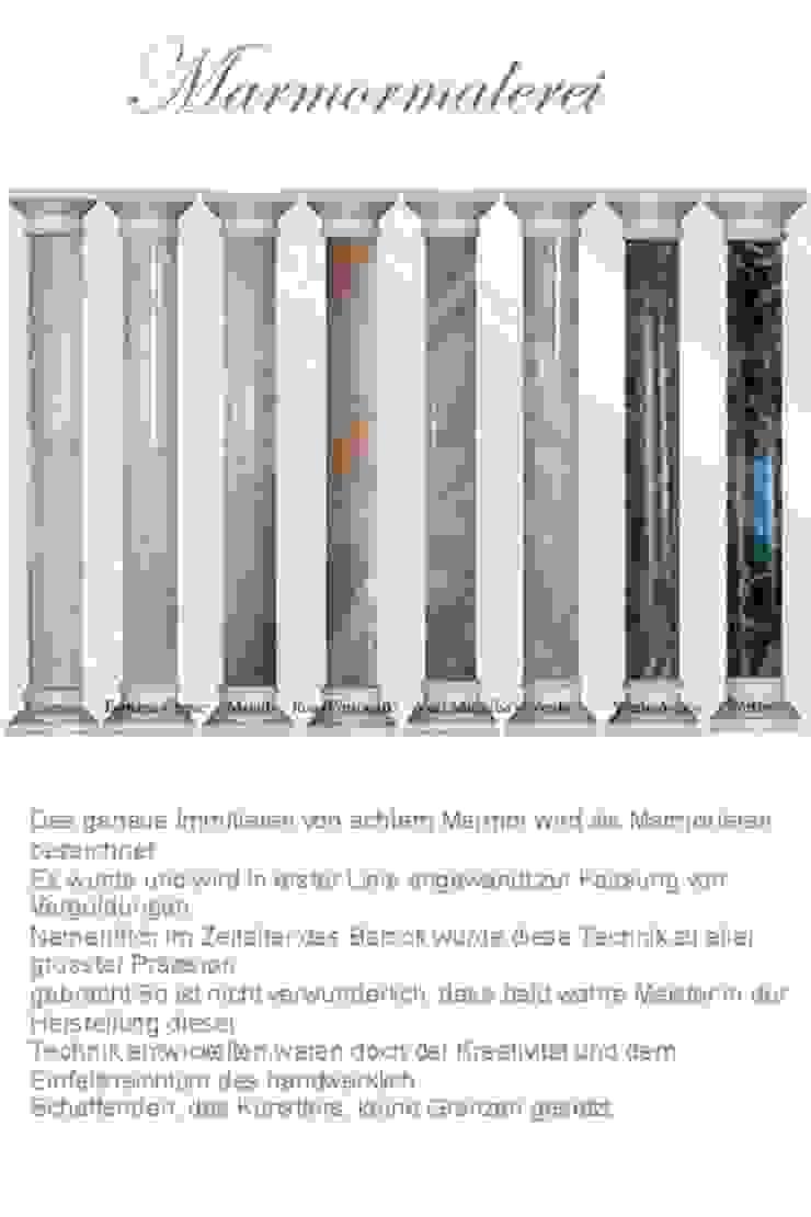 Marmor gemalt so edel wie echter Achim Steudter Illusionen mit Farbe Flur, Diele & TreppenhausAccessoires und Dekoration