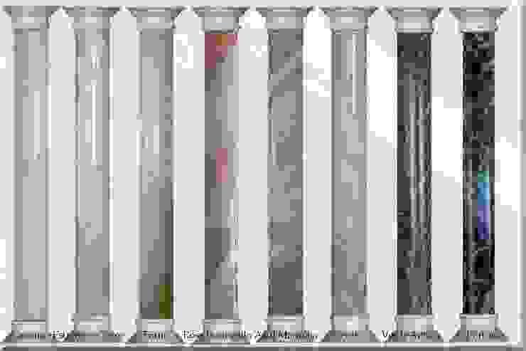 Mustersäulen Marmormalerei Achim Steudter Illusionen mit Farbe Flur, Diele & TreppenhausAccessoires und Dekoration