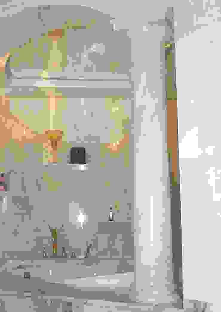 Estremoz Creme Säulen in Marmormalerei Illusionen mit Farbe Flur, Diele & TreppenhausAccessoires und Dekoration