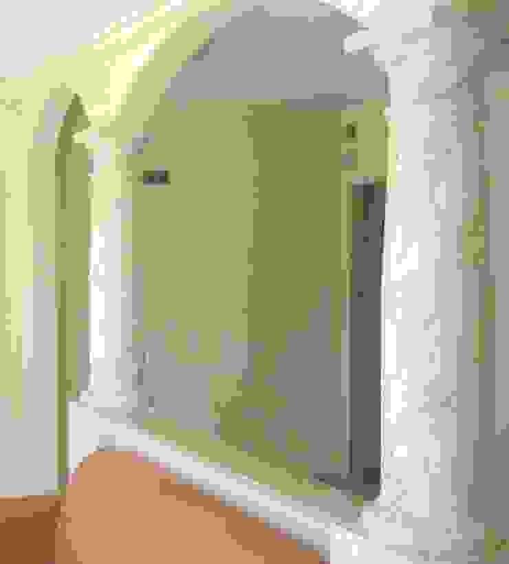Marmormalerei in Pallisandro Bluette Illusionen mit Farbe Flur, Diele & TreppenhausAccessoires und Dekoration
