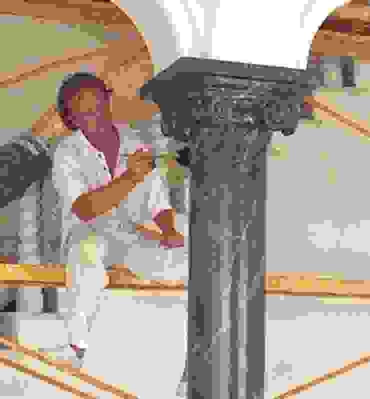 Säulen Marmormalerei Illusionen mit Farbe Flur, Diele & TreppenhausAccessoires und Dekoration