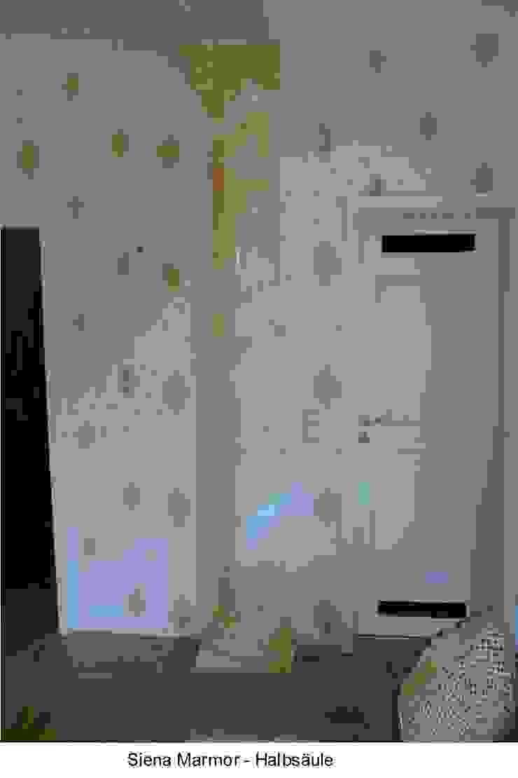 Marmormalerei von Siena Marmor Illusionen mit Farbe Flur, Diele & TreppenhausAccessoires und Dekoration