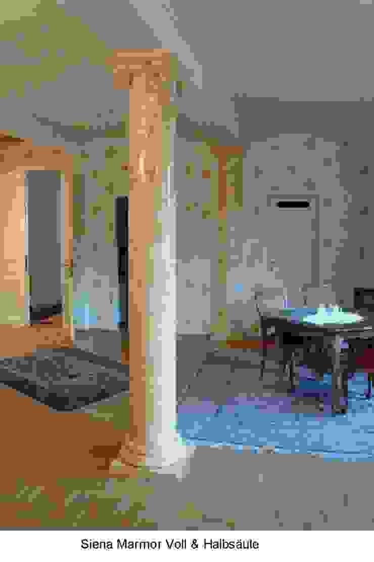Marmormalerei von Siena Marmor in einer Villa Illusionen mit Farbe Flur, Diele & TreppenhausAccessoires und Dekoration