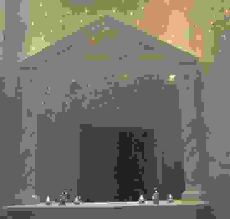 Badezimmer Pilaster marmoriert und komplette Herstellung Illusionen mit Farbe Flur, Diele & TreppenhausAccessoires und Dekoration