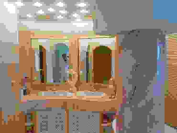 Säulen bemalt Rosa Potogallo Illusionen mit Farbe Flur, Diele & TreppenhausAccessoires und Dekoration