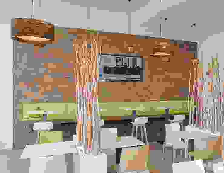 Wandverkleidung mit Sitzbank Moderne Hotels von Tischlerei Köchert Modern