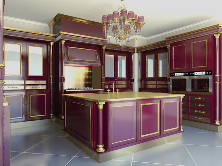 Cantu kitchen Cucina in stile classico di elisalage Classico