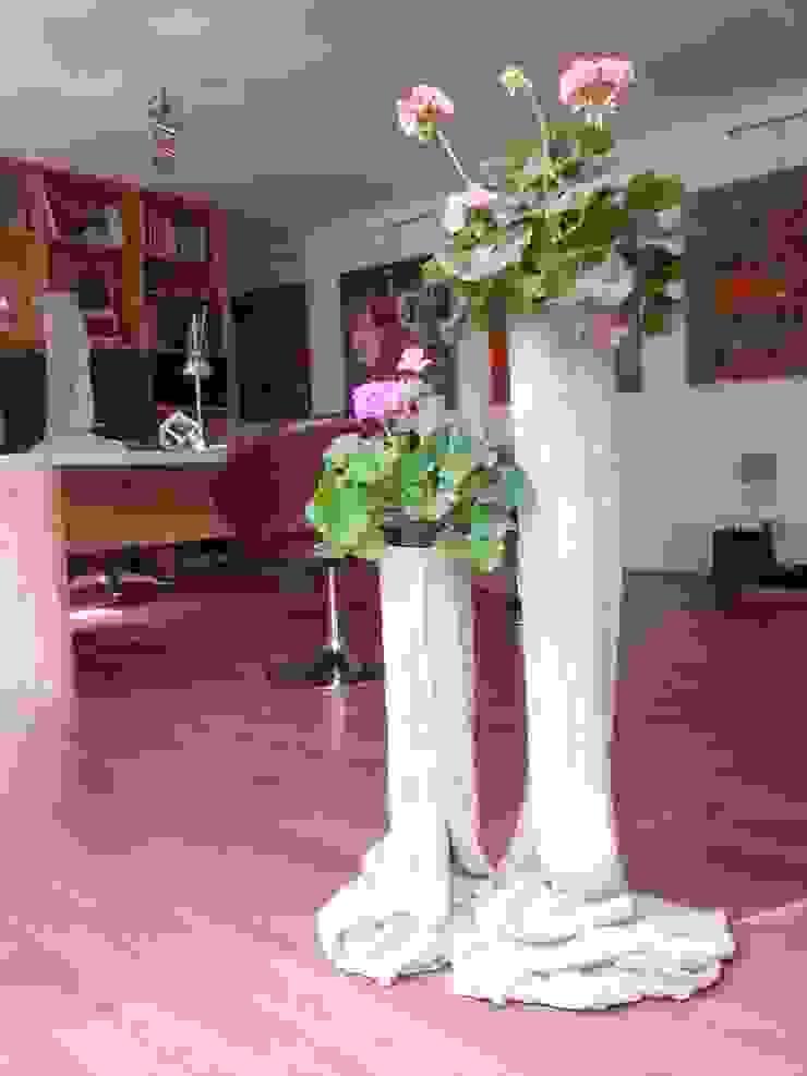 Vaso in Tessuto Cementato n°6-2013 di Architetto Daniele Stiavetti Moderno
