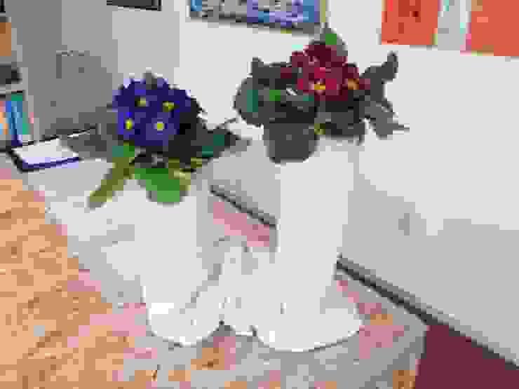 Vaso in Tessuto Cementato n°3-2013 di Architetto Daniele Stiavetti Moderno