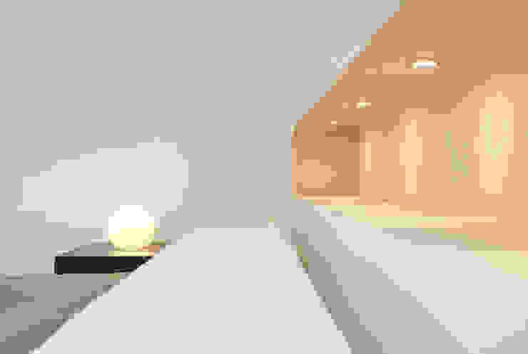 Dachaufstockung eines Einfamilienhauses Moderne Schlafzimmer von WSM ARCHITEKTEN Modern