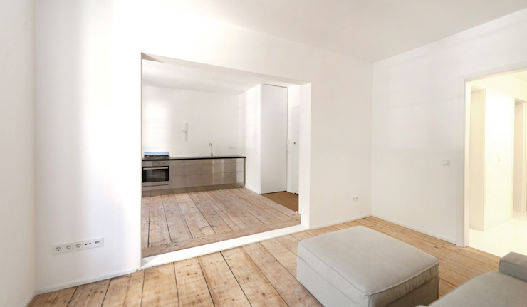 Minimalistische keukens van Brut Deluxe Architektur + Design Minimalistisch