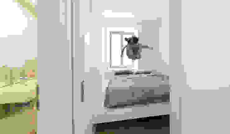 Minimalistische slaapkamers van Brut Deluxe Architektur + Design Minimalistisch