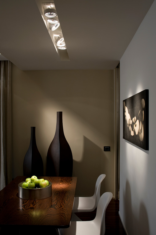 Trastevere Apartment Sala da pranzo eclettica di Carola Vannini Architecture Eclettico