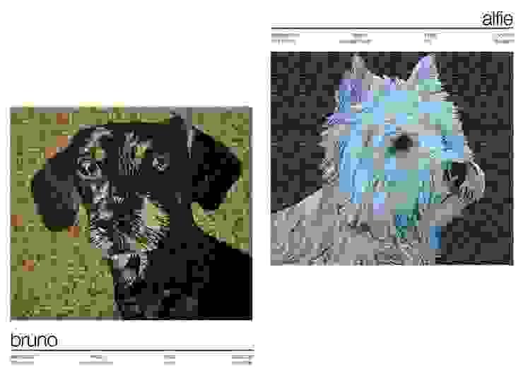 MOSAIC PORTRAITS de Martin Brown Mosaics Ecléctico