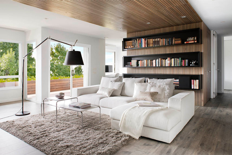 Transversal Expression Modern living room by Susanna Cots Interior Design Modern