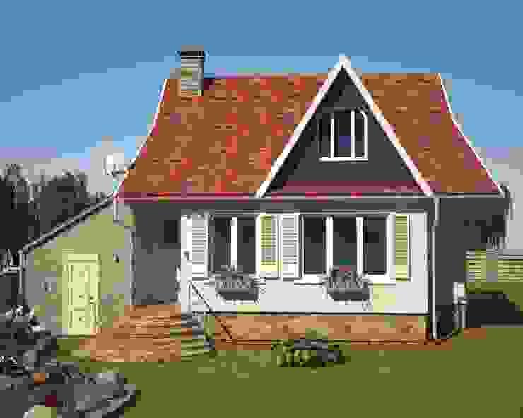 Фасад загородного дома Дома в классическом стиле от Гурьянова Наталья Классический