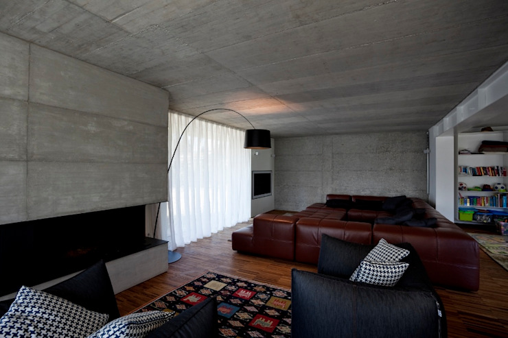 Casa DD Soggiorno di C&P Architetti - Luca Cuzzolin + Elena Pedrina