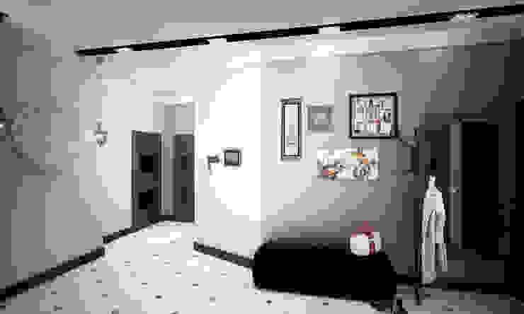 Modern Corridor, Hallway and Staircase by Гурьянова Наталья Modern