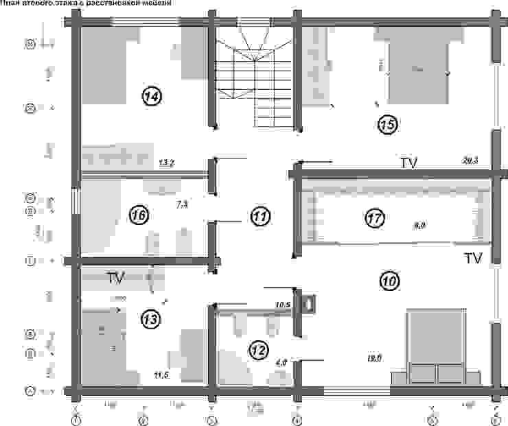 План второго этажа от Гурьянова Наталья