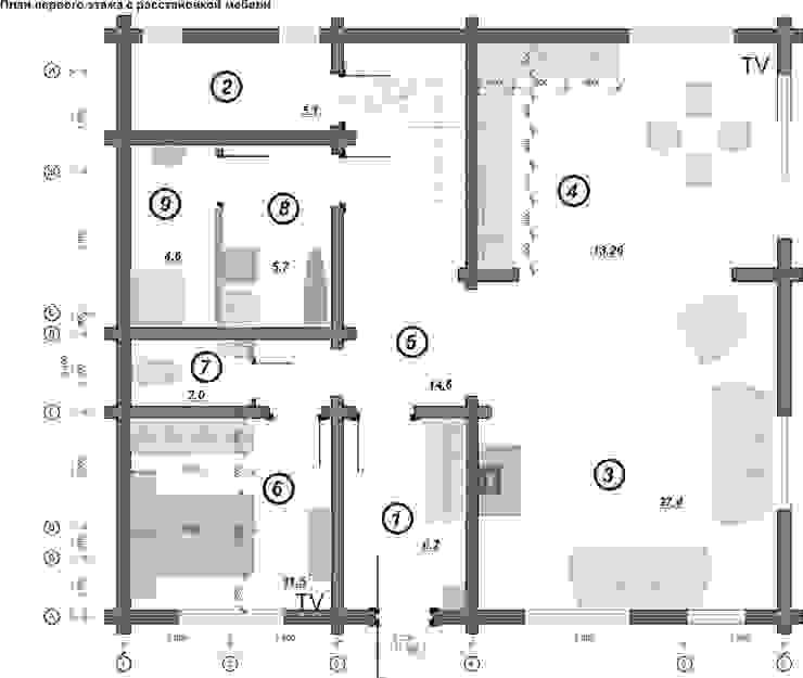 План первого этажа от Гурьянова Наталья