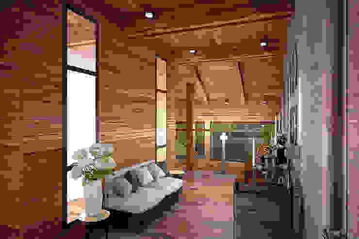 """3D визуализация """"холл 2 этаж"""" от Forma-T studio Эклектичный"""