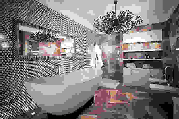 """3D визуализация """"ванная комната"""" от Forma-T studio Эклектичный"""