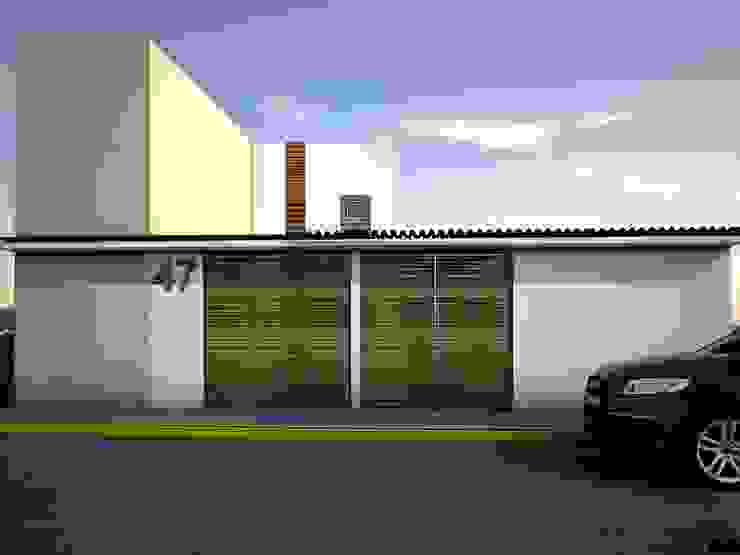 Casa X Casas modernas de REA + m3 Taller de Arquitectura Moderno