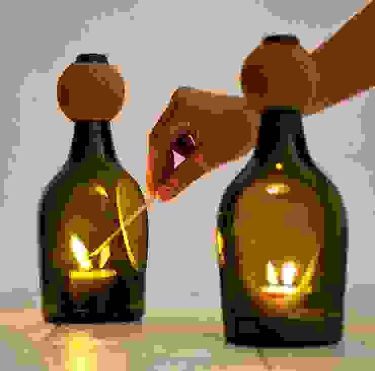 Una rielaborazione della lanterna tradizionale di Lucirmas di Alessandra Gaeta Minimalista