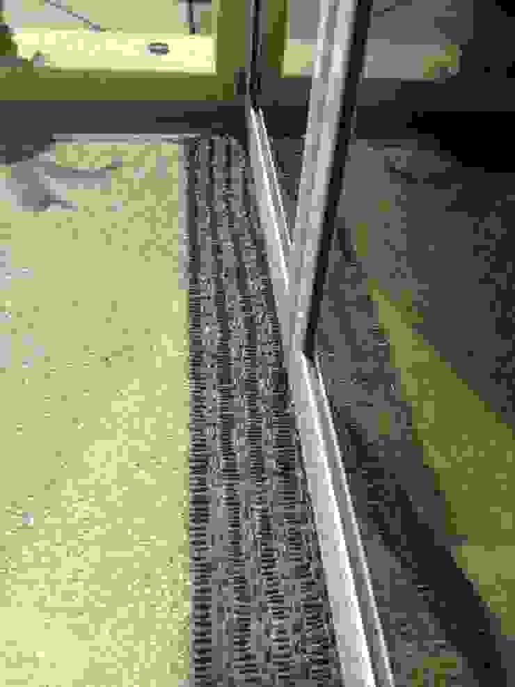Detalle de pavimento:  de estilo tropical por ARQUELIGE, Tropical