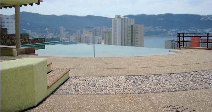 Texturas del Pavimento:  de estilo tropical por ARQUELIGE, Tropical