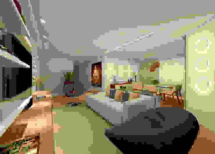 Konverto Interiores + Arquitetura Modern living room