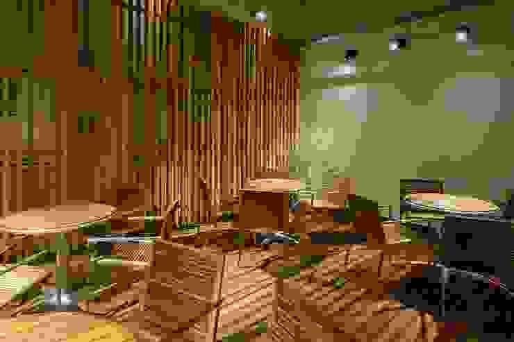 Bun Café - 外部・喫煙席 ラスティックなレストラン の MoMo. Co., Ltd. ラスティック