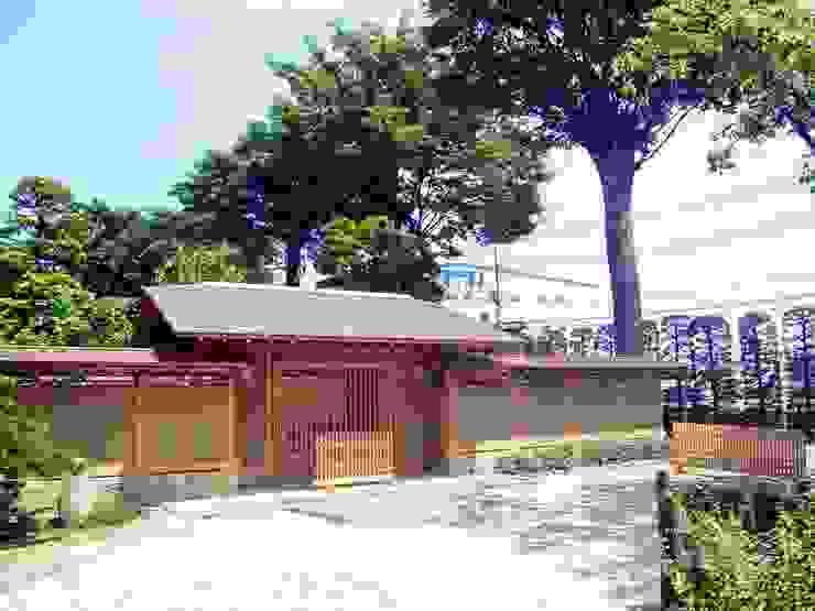 数奇屋門 クラシカルな 庭 の 一級建築士事務所 匠拓 クラシック