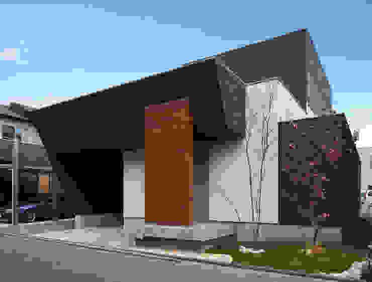 M6-house 「 幾何学の家」 Architect Show Co.,Ltd モダンな 家